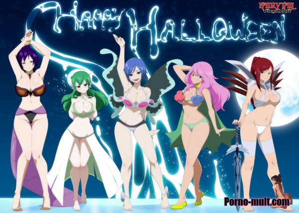 Happy Halloween - Fairy Tail 18+